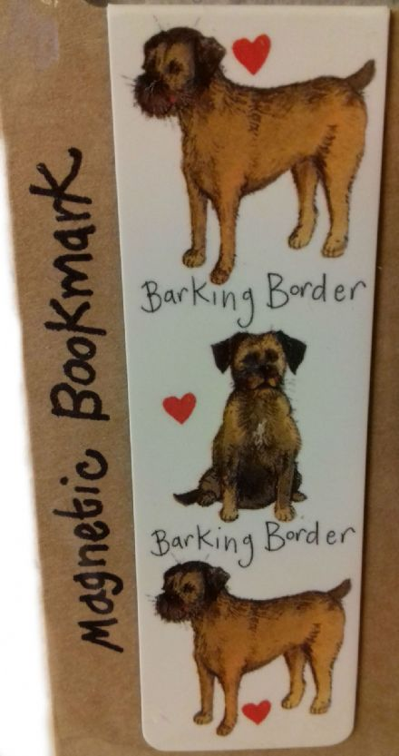 Barking Borders Magnetic Bookmark
